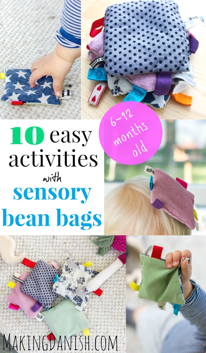Enjoyable 10 Easy Activities With Sensory Baby Bean Bags Pabps2019 Chair Design Images Pabps2019Com
