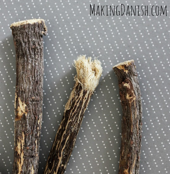 Liquorice root as teething pain relief