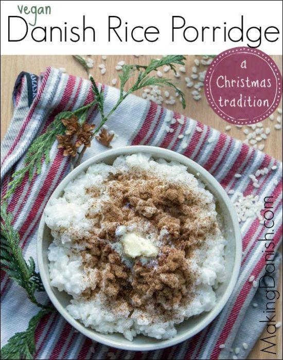 Danish Rice Porridge Risengrod Vegan