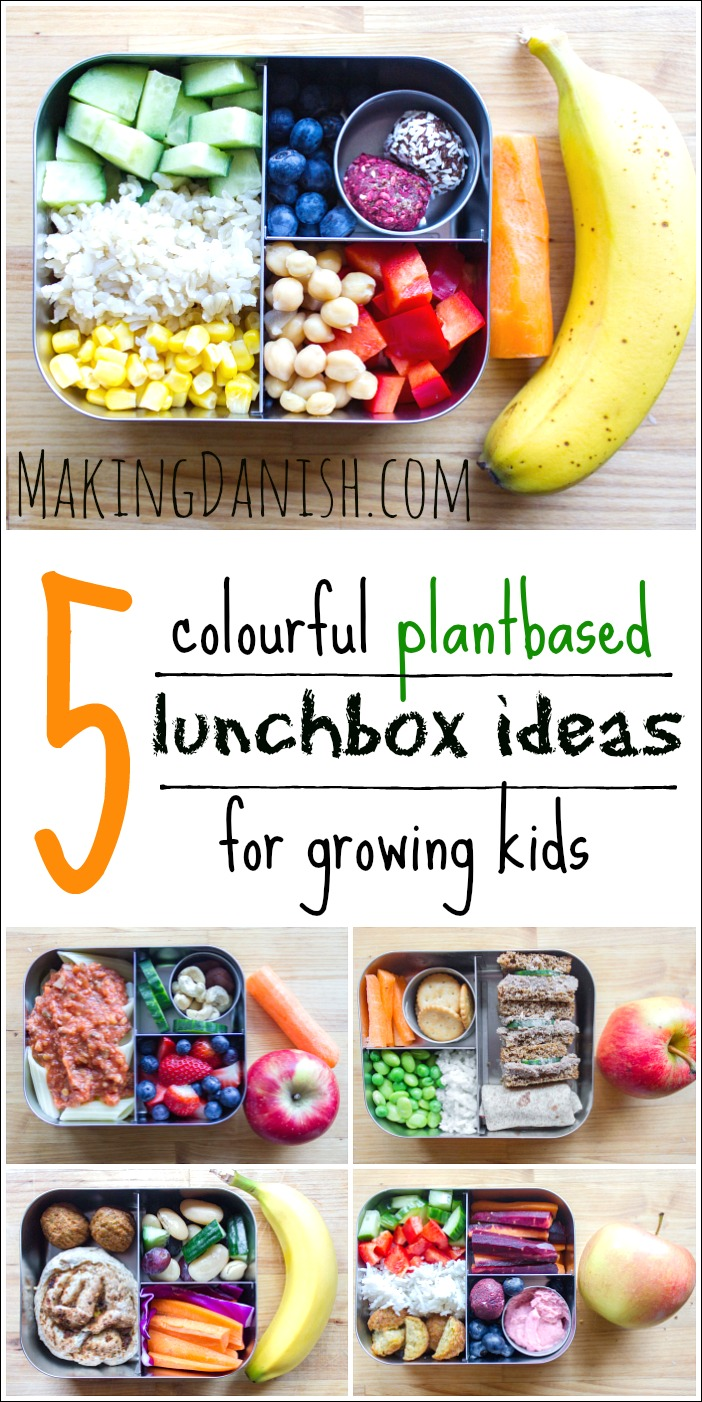 5 vibrant plantbased lunchbox ideas for your growing kids