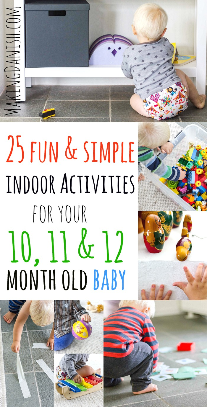 simple indoor activities 10 11 12 month old baby