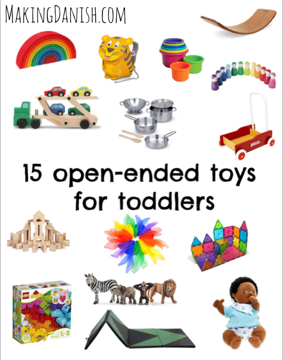 open-ended toys for toddlers and kids