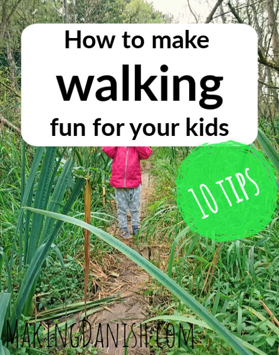10 tips on how to get your kids to walk more