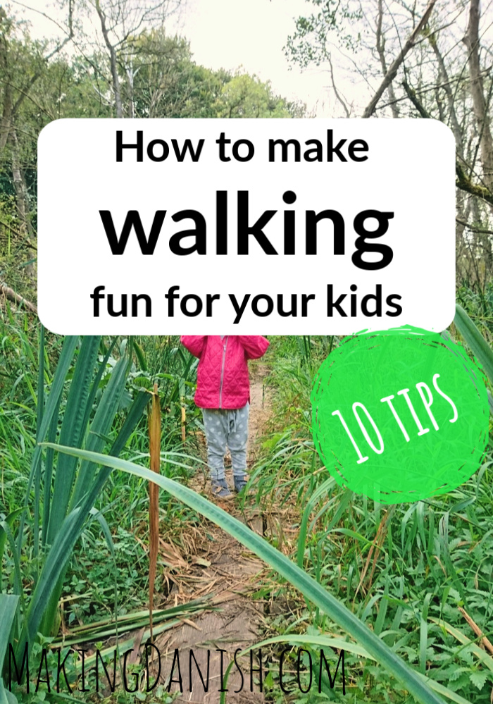 how to get kids to walk for longer stretches