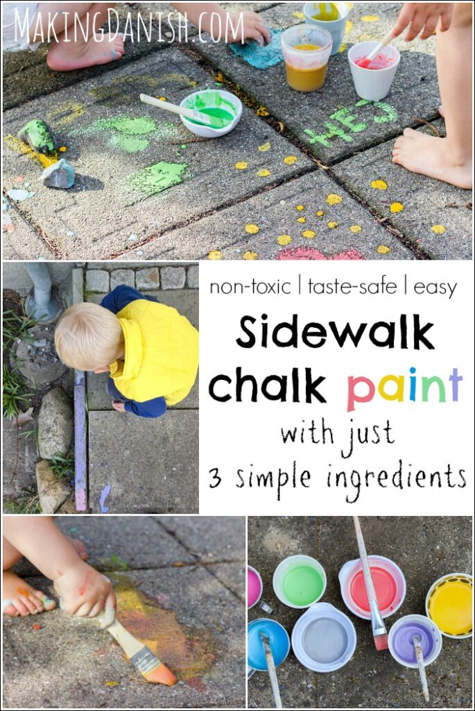 taste safe sidewalk chalk paint non-toxic