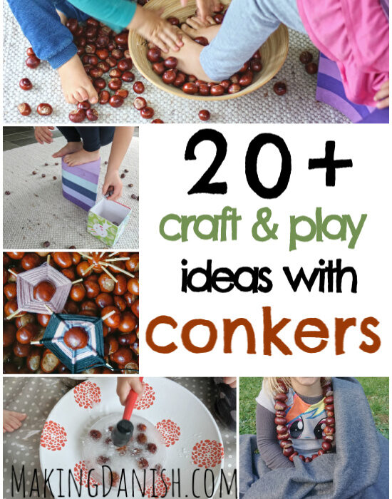 20+ crafts and play ideas with conkers