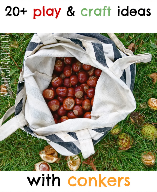 fun easy and simple activities with conkers