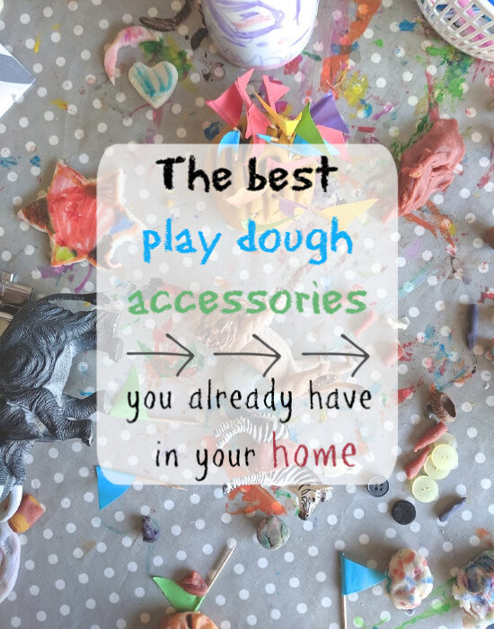 play dough accessories everyday items