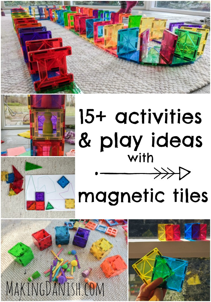 best activities with magnetic tiles