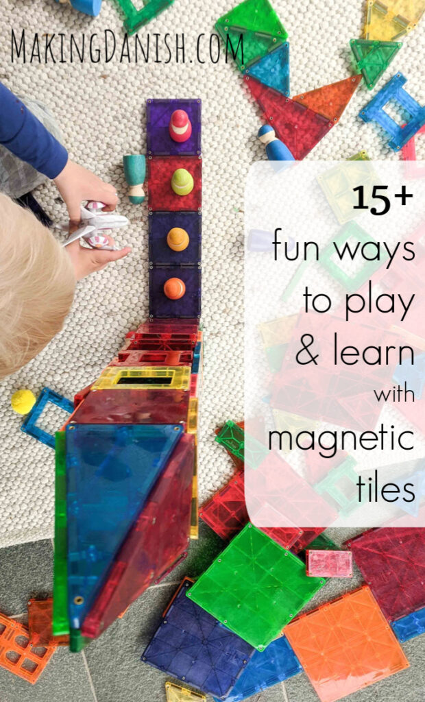 play and learn with magnets