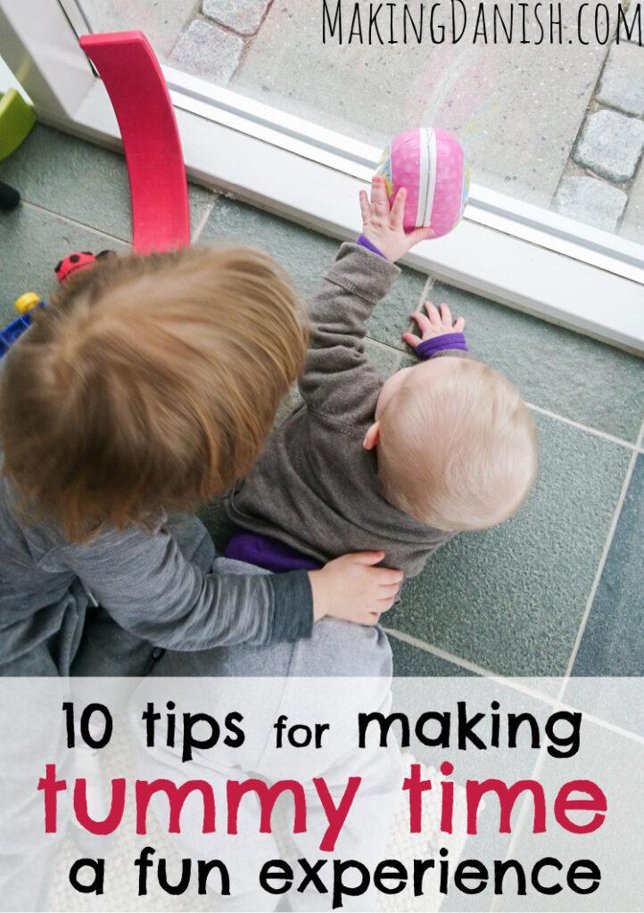 10 tips to make tummy time fun and enjoyable